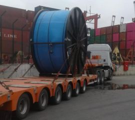 Project transportation completed successfully from USA Houston to İzmir