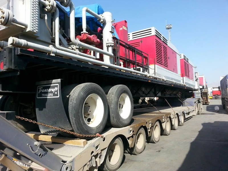 From Erbil Iraq to Gaziantep / Aydin Turkey Rig Movement Completed