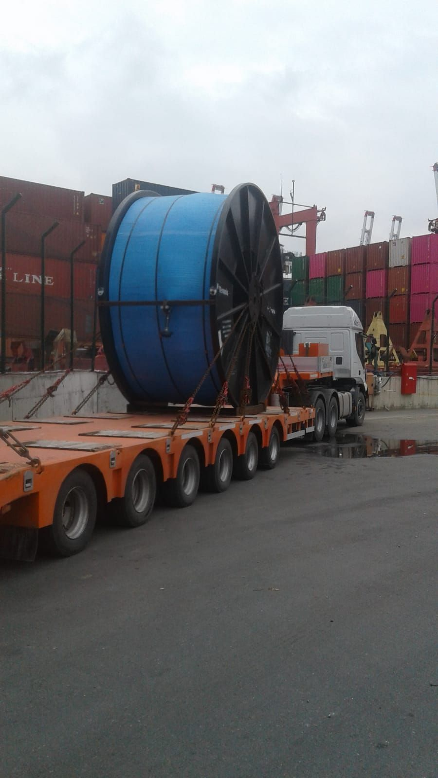 FROM United Kingdom To Hungary Project logistics has been completed smoothly